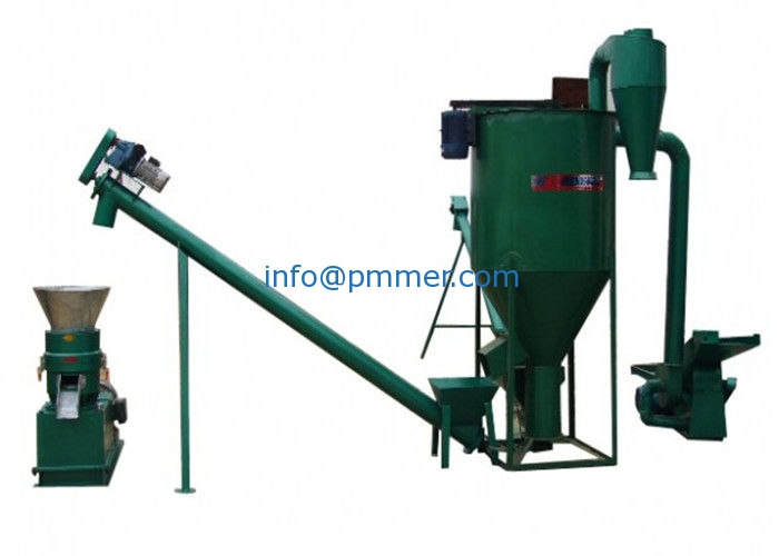 15kw Noiseless Straw Wood Pellet Machine With High Effciency