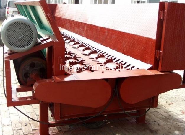 Wood/Log Debarker Machine