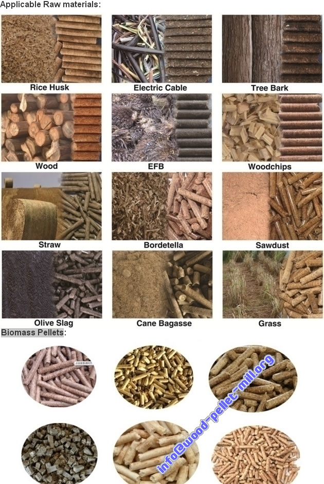biomass wood pellet plants for Raw materials