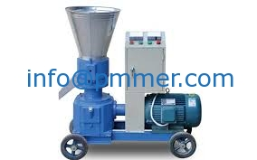 electric mobile pellet mill