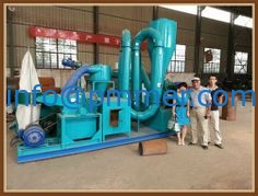 mobile small wood pellet plant