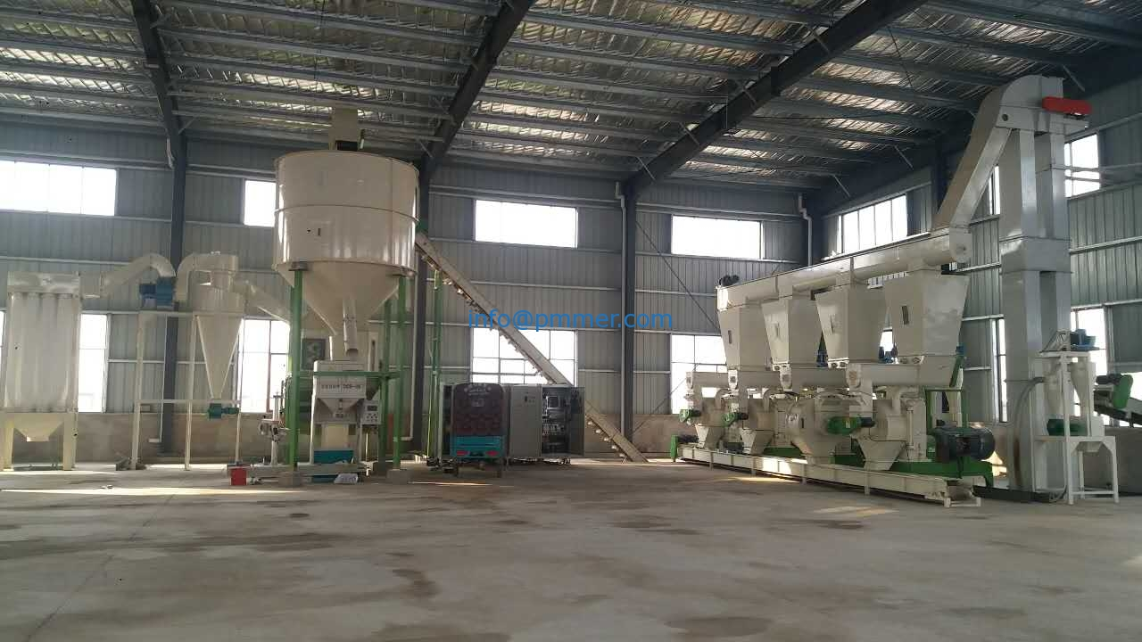 10-12TPH Biomass & Wood Pellet Production Line