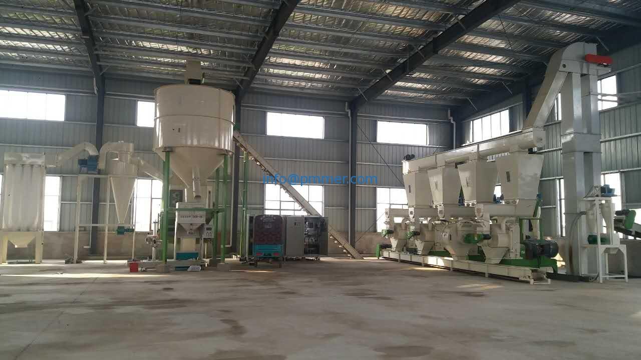 10-12TPH Biomass & Wood Pellet Production Line