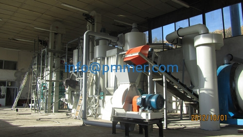 1TON PER HOUR Biomass Pellet Mill Project For Bulgaria