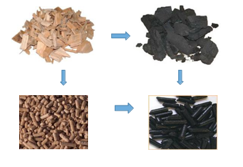 """Production of """"high quality torrefied wood pellets"""" with minimum energy consumption"""