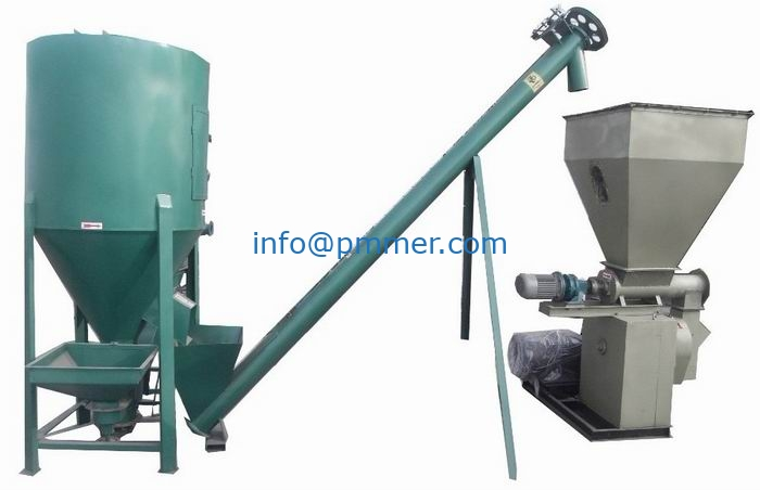 400-600kg/h Feed Pellet Production Line