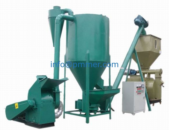 800-1000kg/h Feed Pellet Production Line