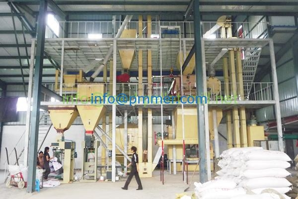 ANIMAL FEED MANUFACTURING PLANT