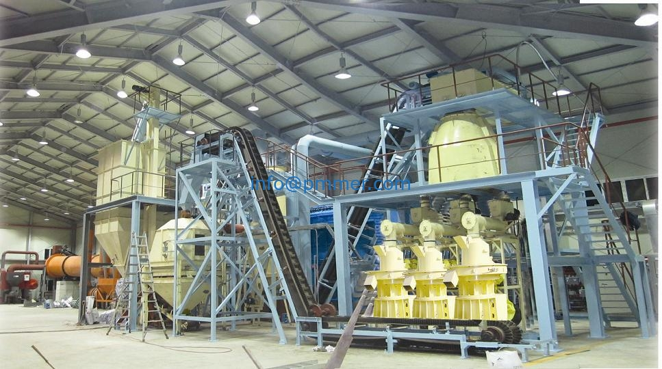 Australia Wood Pellet production line