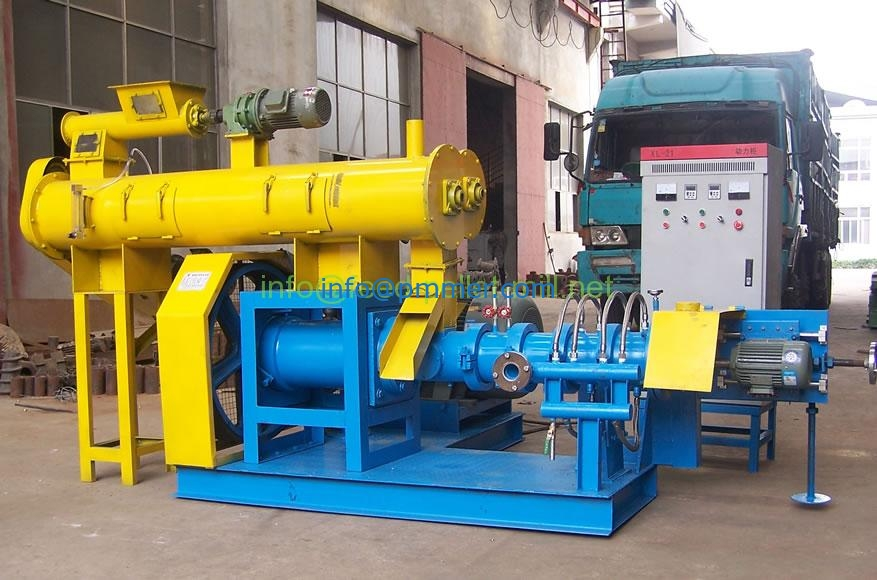 Dry-type feed making machine & wet type fish feed extruder
