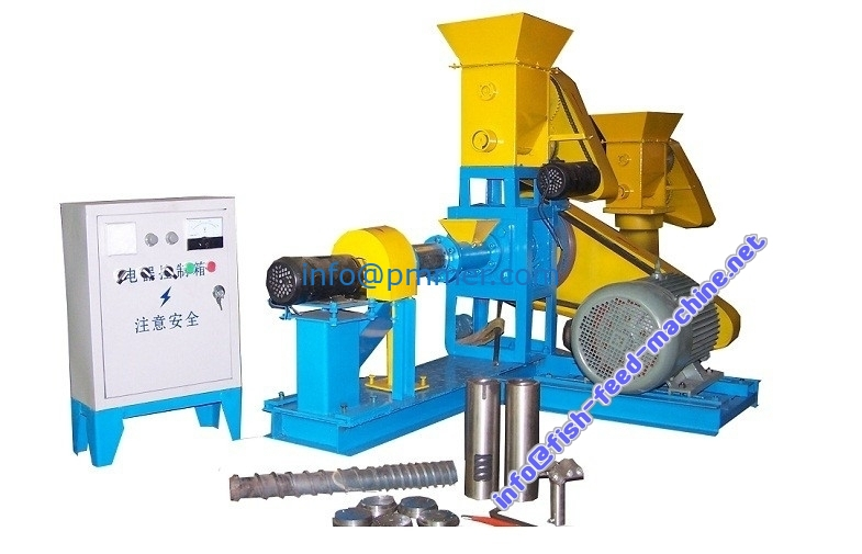 fish feed production machine line with capacity of 300-400kg/h