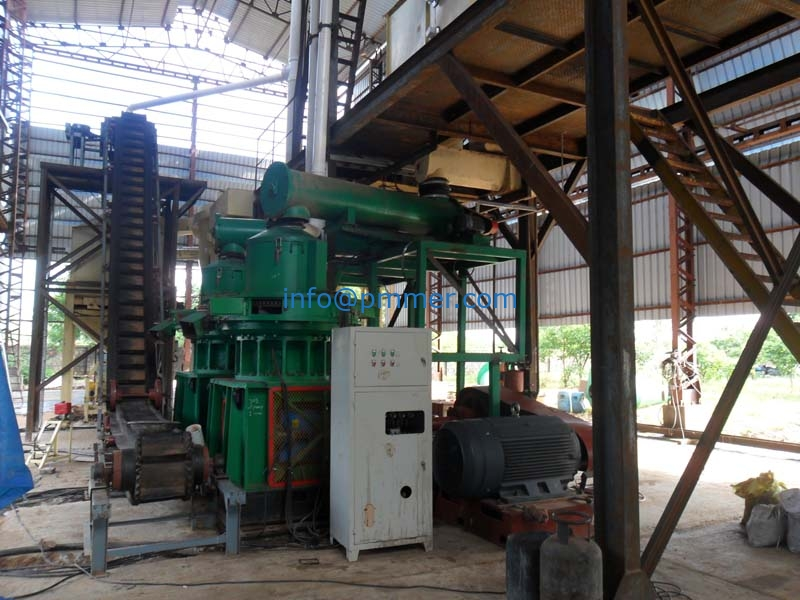 India wood pellet production line 5TPH