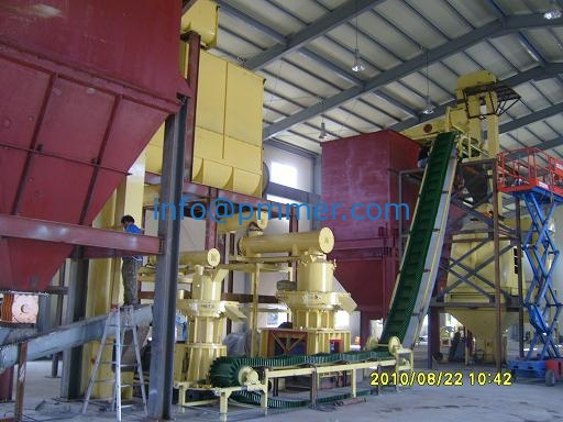 Korea wood pellet production line 3-4TPH