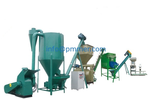 200-300kg/h Small Feed Pellet Production Line