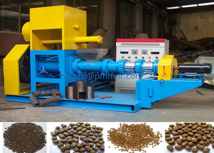 Floating Fish Feed Pellet Making Machine Dry & Wet Types
