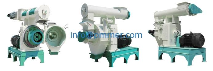 The Key Wood Pellet Line Equipment-ring-die-wood-pelleting-machine