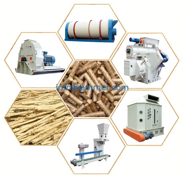 How to start complete wood pellet plant?