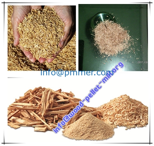 Wood Hammer Mill-crushed_sawdust