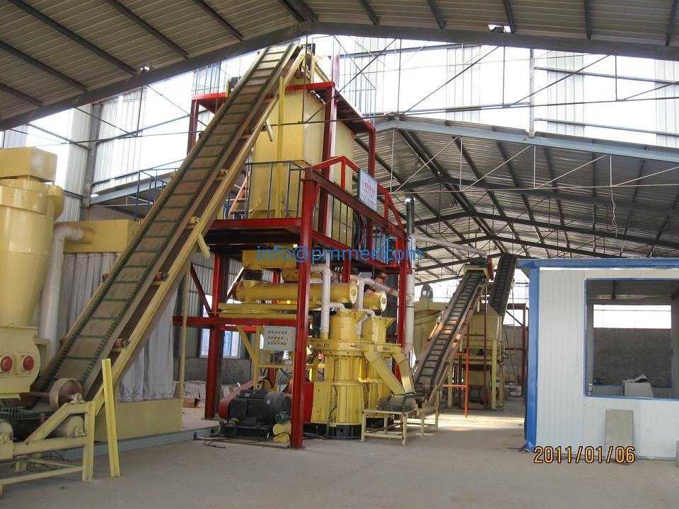 Wood pellet production line 2-3TPH for Switzerland