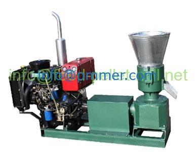 Diesel Flat Die Feed Pellet Machine