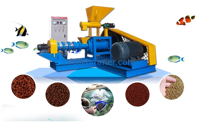 Hot Sale Automatic Feed Production Line for Floating Fish Feed Mill