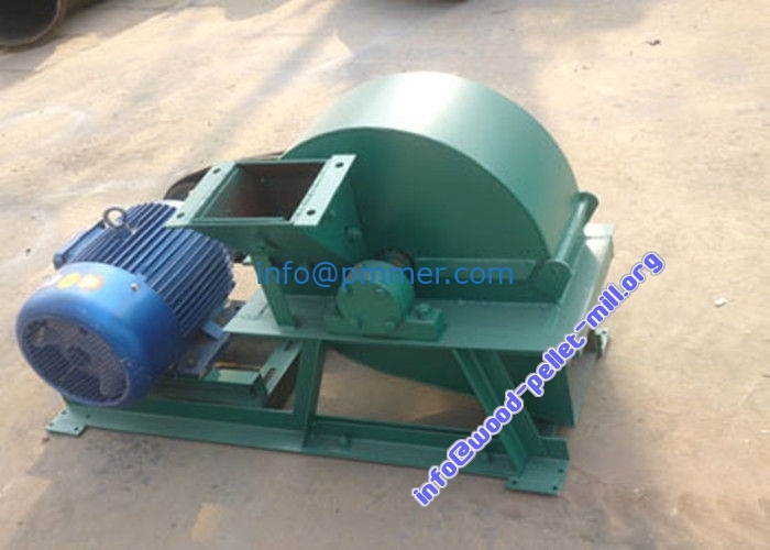 Wood Crusher Machine for Wood Pellet and Biomass Briquette Plant